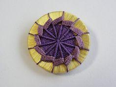 紫×山吹 直径25mm