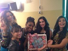 Fifth Harmony at Radio Disney