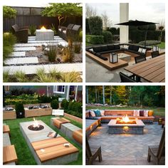 Garden firepit inspirations. Ognisko w ogrodzie - Green Design inspiracje. Backyard, Patio, Outdoor Furniture Sets, Outdoor Decor, Inspiration, Home Decor, Gardening, Boho, Diy