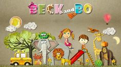 Beck and Bo: Fantastic new educational apps for preschoolers with great design.