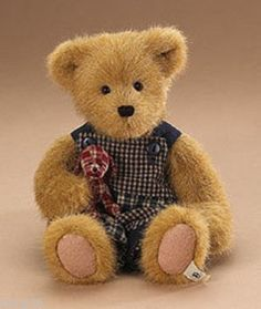 Boyds-Bears-Jake-Quiltbeary-with-Patches-904683-10-Plush-Bear-NWT-2007