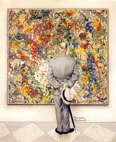 1962 ... The Connoisseur - Norman Rockwell