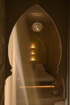 L'une des 5 chambres d'AnaYela, riad design au cœur de la médina | © AnaYela