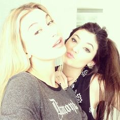 17-year-old Hailey is best friends with 15-year-old Kardashian offspring, Kylie Jenner.