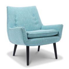 pale blue chair with elegant legs > mrs godfrey chair ++ jonathan adler Home Furniture, Modern Furniture, Furniture Design, Mint Furniture, Furniture Chairs, Upholstered Furniture, Modern Chairs, Custom Furniture, Antique Furniture