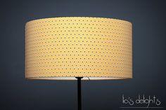 lampe en toile et bois moutarde h 58 cm berlin maisons du monde euros un peu de lumi re. Black Bedroom Furniture Sets. Home Design Ideas
