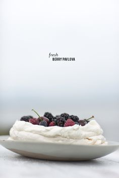 Fresh Berry Pavlova | Style Me Pretty Living | Bloglovin'
