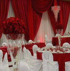 red wedding venue - Google Search
