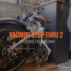 Mountain Biking Discover Electric Folding Fat Bike The RadMini Step-Thru Winner Best Folding Electric Fat Bike of 2020 Cool Bicycles, Cool Bikes, Folding Electric Bike, Bike Folding, Electric Car, Materiel Camping, E Mtb, Power Bike, Harley Davidson Dyna