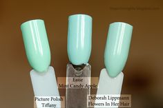 Comparison Tuesday - Blue-green polishes part...whatever