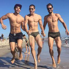 Alejandro Rosaleny, Max Emerson, and Abram Hodgens