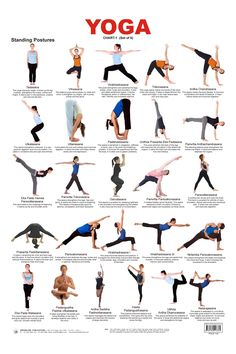 Have You Wondered What The Benefits Are From Practicing Yoga Standing Poses Or Asanas In A Nutshell Most Obvious That