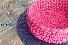 Crochet T-shirt Yarn Bowl