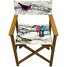 Birds Director's Chair - John Lewis - £65