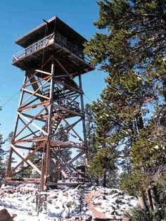 Spruce Mountain Fire Lookout – Medicine Bow National Forest, Wyoming