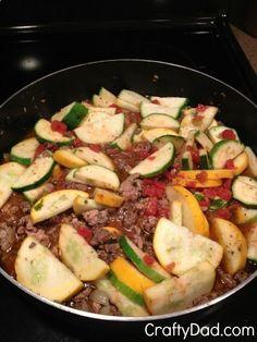 Paleo Recipe :: Paleo Goulash. To make it even better, use ground turkey/ turkey sausage, and reduced sodium tomatoes.