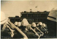 NAVY AIR FORCE PILOTS SALUTE WAR FLAG!!