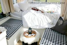 Bethany's Pop Up Camper Makeover - The Pop Up Princess...