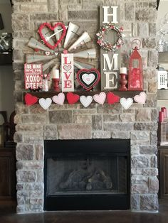 - What exactly is Valentine's Day or Saint Valentine's Day? It is a holiday celebrated on February 14 by many people throughout the world. On this speci. day decorations for resturant Luxurious Valentines Day Mantel Decor For Inspiration Saint Valentine, Valentine Day Love, Valentine Day Crafts, Holiday Crafts, Valentine Party, Diy Valentine's Day Decorations, Valentines Day Decorations, Decor Ideas, Valentines Day Decor Rustic