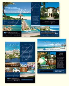 National Print Advertising for Luxury Real Estate