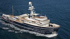 Seawolf Luxury Expedition Yacht -- Builder J. & K. Scheepweren N.V. #yacht #yachts #boat #boats #motoryacht #motoryachts #powerboat #powerboats #madeinitaly #sail #luxury www.tommyholiday.it