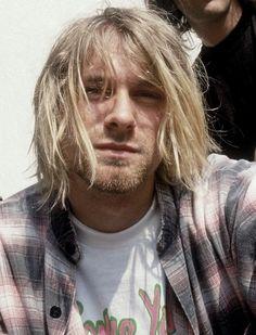 Kurt Cobain, duh. #SALSITinspo #90s #grunge