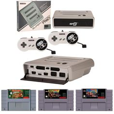 Super Retro Trio 3-in-1 Retro Console with Donkey Kong Country Trilogy Bundle