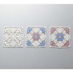 yaklaşık 15 × 15cm teslim tek seferde ve ● motifi üç yapabilirsiniz.