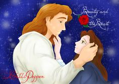 Anime style Beauty and the Beast