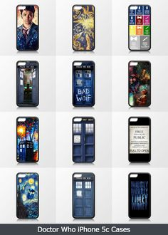 CaseCoco.com Best Doctor Who iPhone 5c Cases with doctor who. tardis ,Matt smith , david tennant,quotes, bad wolf.Hope you like them.Doctor Who iPhone 5c Cases