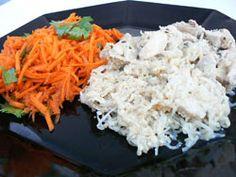 Paleo Chicken Alfredo  - Entrees -  - paleo diet, paleo, recipe, nutrition, robb wolf, scott hagnas, weight lifting, strength, conditioning, fitness, greg everett - Catalyst Athletics Recipes