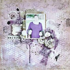 Just My Scrapping World.. : A layout for Riddersholm Designs and 1 more Video Tutorial!