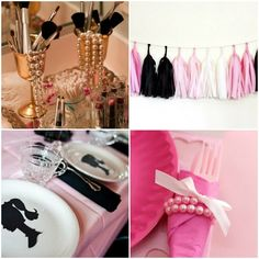 Ideas para decorar cumpleanos de barbie Barbie Birthday Party, Barbie Party, 6th Birthday Parties, Birthday Ideas, Remember Day, Party Themes, Pink, Themed Birthday Parties, Manualidades