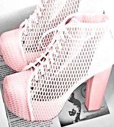 Cute, Light Pink High Heels