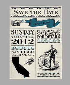 Vintage  Antique Victorian Banner Wedding Save the by jamiekonet, $3.00