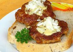 Russian Recipes, Meat Recipes, Baked Potato, Camembert Cheese, Entrees, Mashed Potatoes, French Toast, Pork, Appetizers