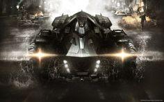 Amazing batmobile Batman Arkham Knight Free HD Wallpaper