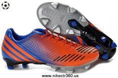 New Adidas Predator LZ TRX FG Orange-Blue-Black 2014 Soccer Cleats
