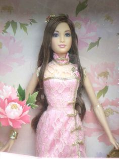 """https://flic.kr/p/bk7S4e   Barbie Year of the Rat 2008   Mattel (2007)  BARBIE Chinese New Year Wishes  Year of the Rat  (Limited Edition -Rare)  Beautiful and Exotic Barbie  """"Barbie welcomes you to the auspicious Year of the Rat""""  Size of box : 13.5inx3inx8in  Available at giftsntoys.ecrater.co.uk &  bonanza.com/booths/Linnys"""