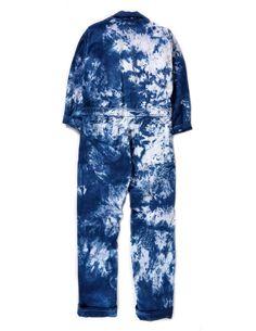 Boiler Suit, Long Jumpsuits, Denim Jumpsuit, Diy Fashion, Indigo, Ready To Wear, Pajama Pants, One Piece, Unisex