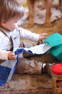 Cloth Pull - I Can Teach My Child!