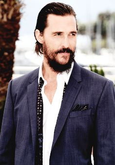Matthew McConaughey Its A Mans World, Matthew Mcconaughey, Cannes Film Festival, Hair Cuts, Suit Jacket, Actors, Blazer, Fashion, Haircuts