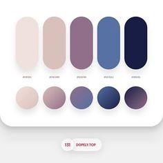 Flat Color Palette, Colour Pallette, Colour Schemes, Color Patterns, Color Harmony, Color Balance, Logos Tattoo, Ui Color, Web Design