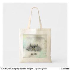 Shop SOCKS, the jumping spider, budget tote bag created by TheSprite. Jumping Spider, Diy Handbag, Unique Purses, Vintage Purses, Old Art, Kate Spade Purse, Satchel Handbags, Fashion Handbags, Leather Purses