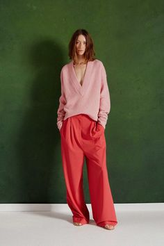 Slouchy Wide-Leg Trousers - Come July and August, denim is taking a backseat to slouchy trousers, seen prominently throughout the pre-fall collections. Designers like Victoria Beckham, Max Mara, Prabal Gurung and Tibi make the case for a relaxed take on this tailored classic. Pro tip: Wear with sneakers for the ultimate cool-girl look.