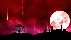 blood moon red design picture and wallpaper Moon Photos, Moon Pictures, Bible Pictures, Colorful Wallpaper, Hd Wallpaper, Desktop Wallpapers, Wallpaper Space, Blood Red Moon, Jesus Is Coming