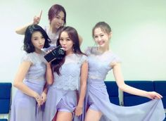 thank you! Bridesmaid Dresses, Prom Dresses, Formal Dresses, Wedding Dresses, South Korean Girls, Korean Girl Groups, Cute Rappers, Sistar, Starship Entertainment