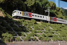上越線レイアウト屋外撮影 エクスプレス185 水上2 | LRM : 鉄道模型 ジオラマ レイアウトと車両工作