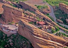 While Red Rocks may be known first and foremost a music venue, it also has a prehistoric connection. In 1877, Stegosaurus, the Colorado state fossil, was found near Morrison, Colorado, which is the home of Red Rocks, while nearby dinosaur tracks also tell of the Jurassic Period. Also, fossil fragments of the giant 40-foot plesiosaur, the marine reptile mossaur, and flying reptiles captivate both students and scientists.