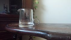Vintage Glass Creamer FREE SHIPPING by VintageMadge on Etsy